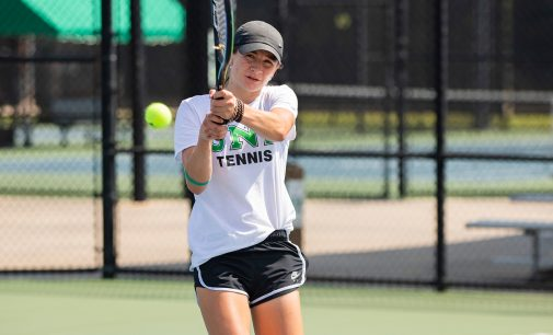 Freshman tennis player making waves at the national level