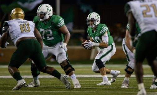 Self inflicted mistakes define football's 49-21 loss versus Marshall Friday night