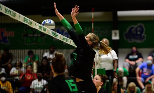 Volleyball unable to handle No. 12 Baylor