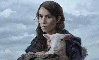 'Lamb' sheepishly scrambles to stick its landing