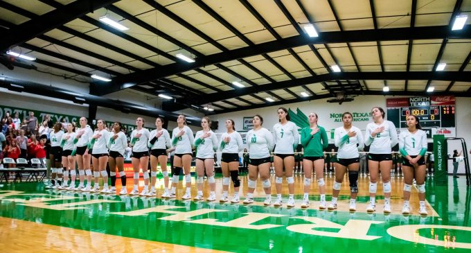 Recap: North Texas volleyball sets sights on tournament spot after win against Southern Miss